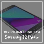 Spesifikasi dan Review Samsung J2 Prime