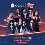 "Ssttt… Ada Via Vallen Lho di ""Shopee 31.3 Elektronik & Digital Sale bersama Slank"""