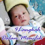 4 Langkah Dalam Memilih Nama bayi
