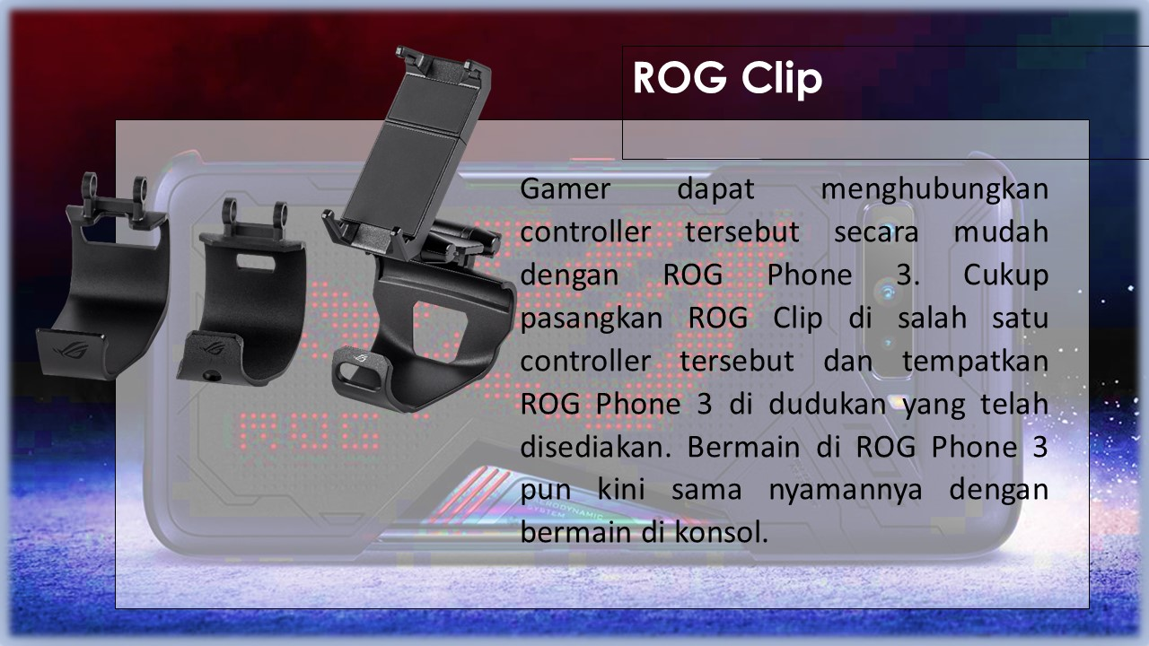 Aksesori ROG Phone 3 - 3
