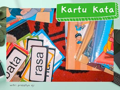 belajar membaca dengan kartu kata - Let´s Read