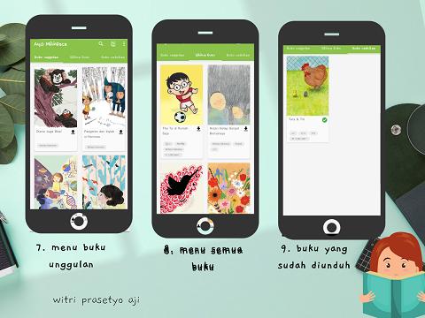 menu aplikasi Let´s Read