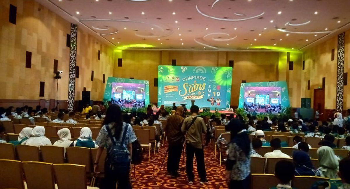 Pembukaan OSN 2019 di Yogyakarta