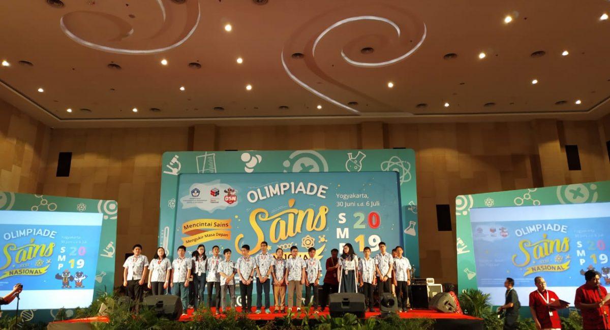 Peraih Medali OSN 2019 di Yogyakarta